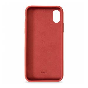 KMP Silicon Case iPhone X / Xs red