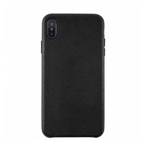 KMP Protective Leather Case iPhone X Xs black