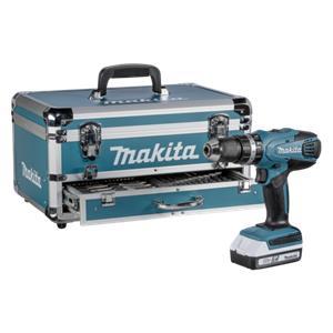 Makita HP457DWEX4 akumulatorska udarna bušilica odvijač sa setom pribora