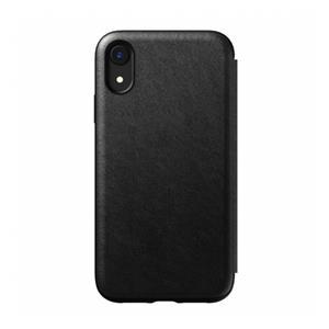 Nomad Tri-Folio Leather Rugged Black iPhone Xr