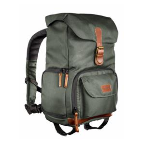 mantona Photo Backpack Luis junior green Retro