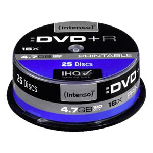 1x25 Intenso DVD+R 4,7GB