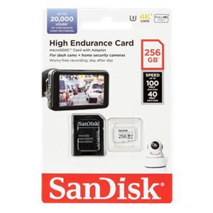 SanDisk High Endurance     256GB microSDXC     SDSQQNR-256G-GN6IA