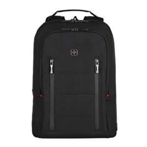 Wenger City Traveler Carry-On Notebook Backpack 16  black