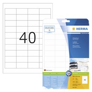 Herma labels white     4