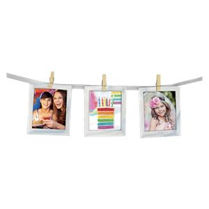 ZEP Party Frame THX810   12x10x8 Photo Cord with Paper Frames