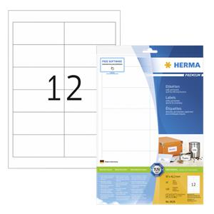 Herma Labels 97x42,3 whi
