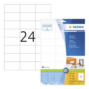 Herma Labels 70x37 white