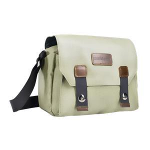 mantona Camera bag Milano piccolo olivgrün