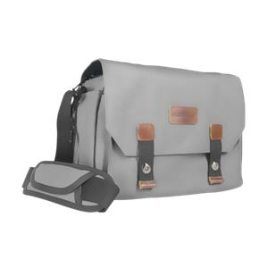 mantona Camera bag Milano grande grey