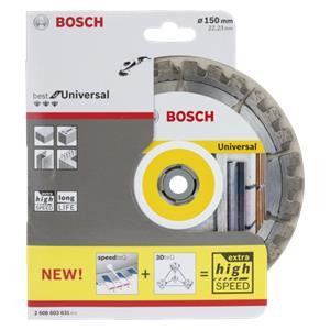 Bosch DIA-TS 150x22,23 Best universal teQ