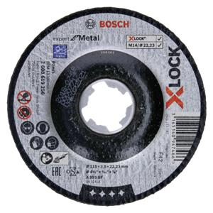 Bosch X-LOCK Cutting disc EfM         115x2,5mm