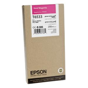 Epson ink cartridge vivid magenta T 653 200 ml      T 6533