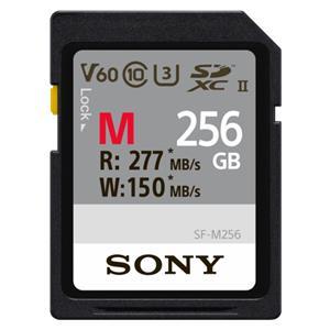 Sony SDXC M series         256GB UHS-II Class 10 U3 V60