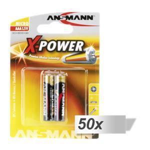 50x2 Ansmann Alkaline Micro AAA LR 03 X-Power