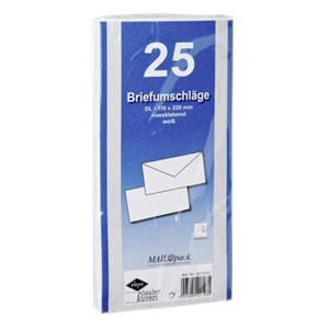 1x25 Envelopes DIN LANG