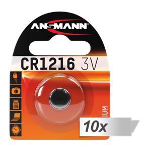 10x1 Ansmann CR 1216