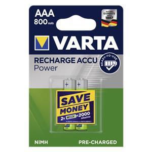 50x2 Varta Rechargeable Accu NiMh 800 mAh Micro