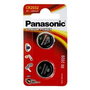 1x2 Panasonic CR 2032 Li