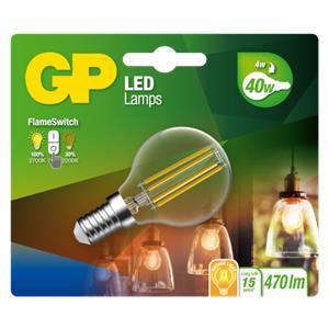 GP Lighting LED FlameSwitch E14 4W (40W) 470 lm        GP 085379