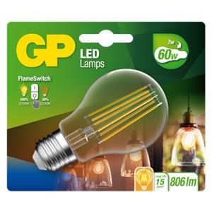 GP Lighting LED FlameSwitch E27 7W (60W) 806 lm        GP 085317
