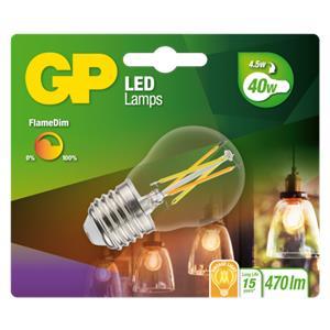 GP Lighting LED FlameDim E27 4W (40W) 470 lm        GP 085461