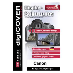 digiCOVER Hybrid Glass Display Cover Canon Powershot G7X MKIII