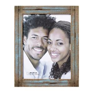 Walther Dupla              30x40 Wood Portrait blue/nature YA040L