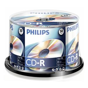 1x50 Philips CD-R 80Min