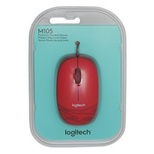 Logitech M105 red