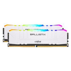 Ballistix 16GB Kit DDR4 2x8GB 3000 CL15 DIMM 288pin white RGB