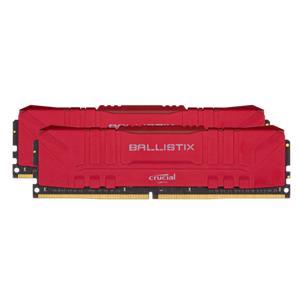 Ballistix 32GB Kit DDR4 2x16GB 2666 CL16 DIMM 288pin red
