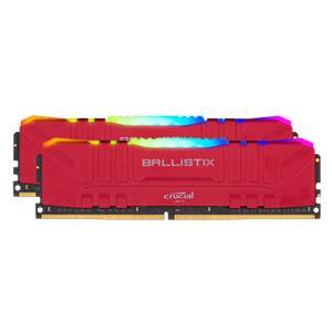 Ballistix 32GB Kit DDR4 2x16GB 3600 CL16 DIMM 288pin red RGB