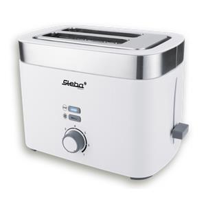 Steba TO 10 Bianco double slot toaster
