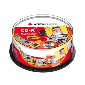 1x25 AgfaPhoto CD-R 80 /