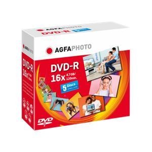 1x5 AgfaPhoto DVD-R 4,7G
