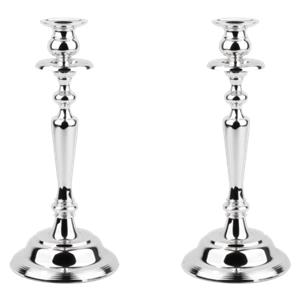Zilverstad candle holder Grazia 2 pcs kit silver-plated 7510261