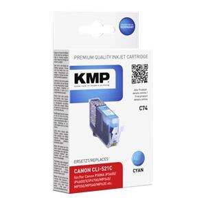 KMP C74 ink cartridge cy