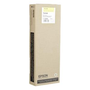 Epson ink cartridge yellow T 636 700 ml              T 6364