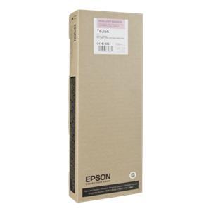 Epson ink cartridge vivid light magenta T 636 700 ml      T 6366