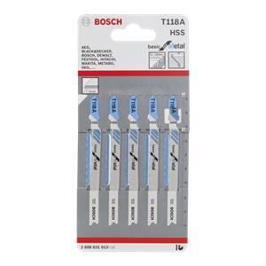 Bosch 5 jigsaw blades T 118 A