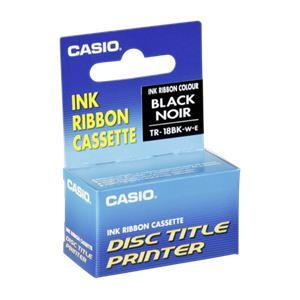 Casio TR-18 BK black Ink