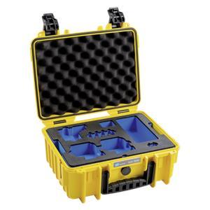 B&W GoPro Case Type 3000 Y yellow w. GoPro 8 Inlay
