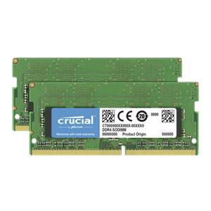 Crucial 32GB Kit DDR4 2666 MT/s 16GBx2 SODIMM 260pin