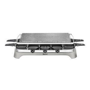 Tefal PR 457 B Pierrade Raclette grau/edelstahl