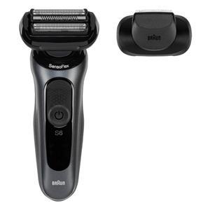 Braun Series 6 60-N1200s schwarz/grau