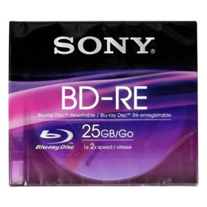 Sony Blu-Ray BD-RE 25GB