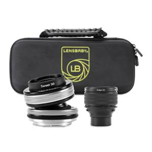 Lensbaby Optic Swap Intro Collection for Fuji X