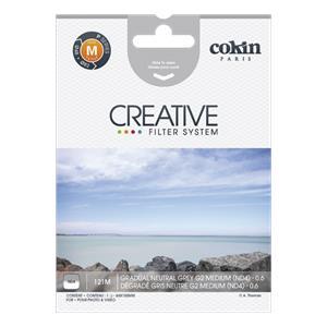 Cokin Filter P121M Gradual grey 2 ND 4
