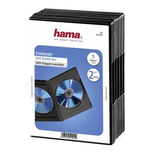 1x5 Hama DVD-Double Jewe